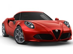 2015 Alfa Romeo 4C Coupe 1.8L Turbo