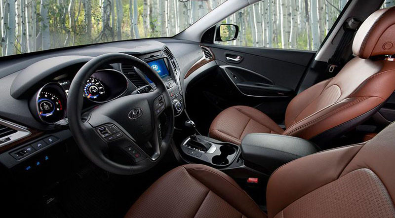 ... Best Car Interior In 2013. Motoraty.com   2013 Hyundai Santa Fe Sport