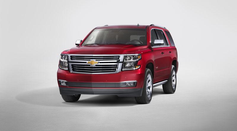 motoraty.com - GM unveils redesigned 2015 Chevrolet Tahoe, Suburban