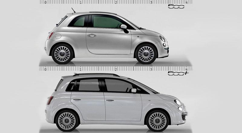 Fivedoor Fiat 500 scheduled for 2015  Motoraty
