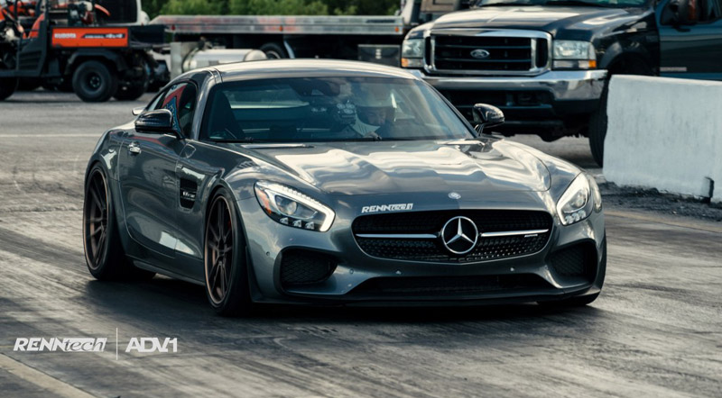 Mercedes-AMG GT S Further Upgraded By Renntech: Video - Motoraty