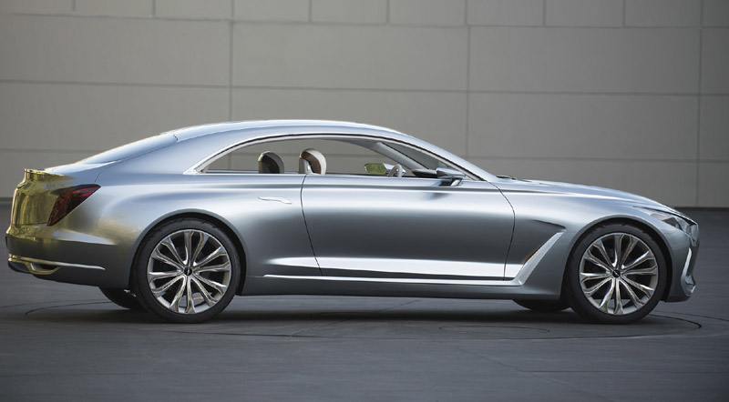 Hyundai America Presents Vision G Coupe Concept at LACMA