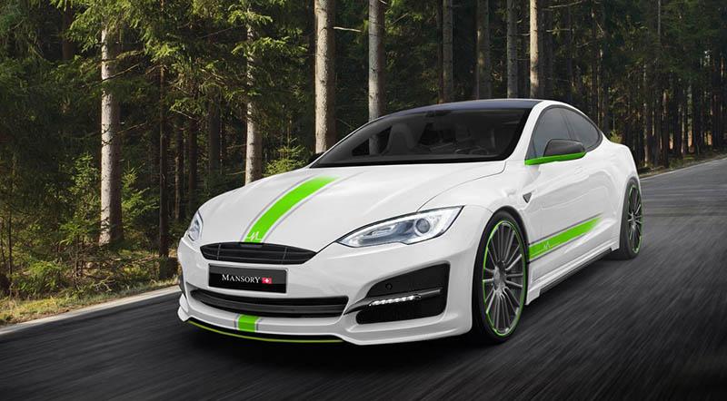 Modified Tesla Model S