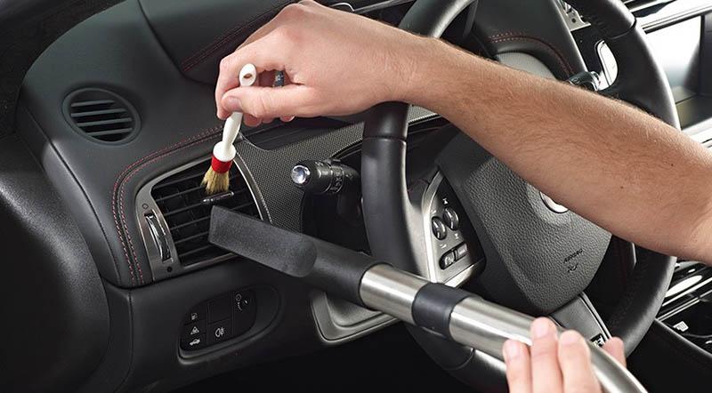 clean your car interior