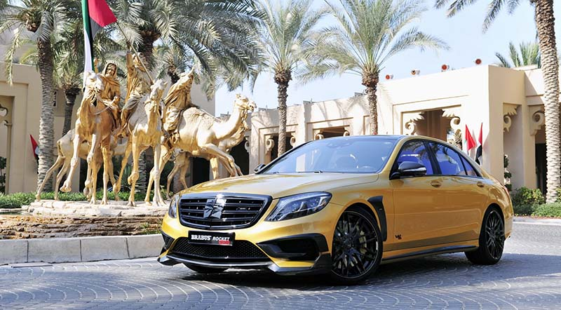 Mercedes S65 Rocket 900 Desert Gold Edition