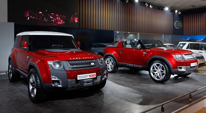 2018 Land Rover Defender To Employ A Modern Design Motoraty