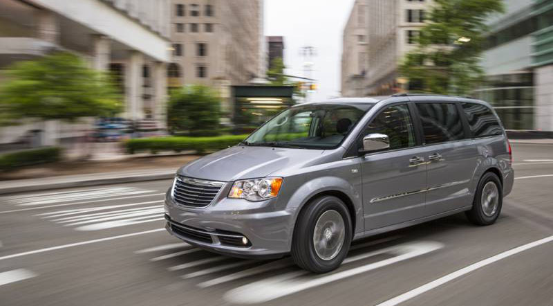 Chrysler grand voyager 2017