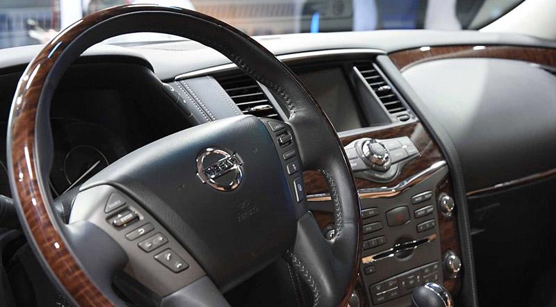 2017 Nissan Armada Interior 03
