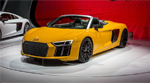 2017 Audi R8 Spyder Steals the Limelight at New York Auto Show