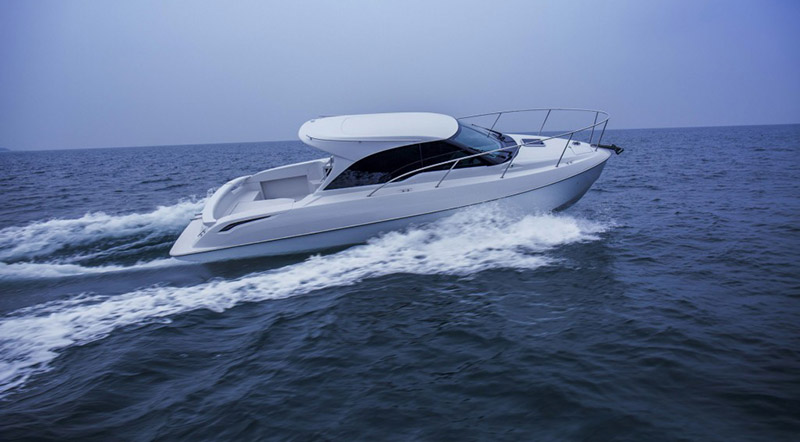 Toyota 28 Concept Boat Unveiled at 2016 Japan Boat Show