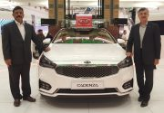 The All-new 2017 KIA Cadenza is launched in the UAE