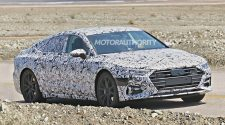 Second Generation Audi A7 Spotted