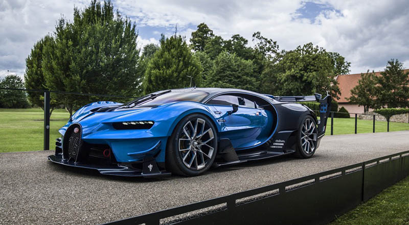 bugatti chiron and bugatti vision gt one offs acquired by saudi collector motoraty. Black Bedroom Furniture Sets. Home Design Ideas