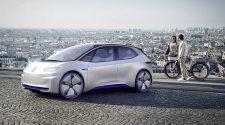 Volkswagen I.D Concept Car Unveiled at Paris Auto Show