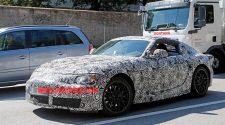 Toyota Supra Prototype Spy Shots