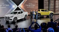 Mercedes X-Class Unveiled in Stockholm