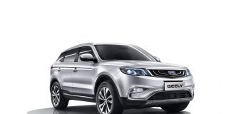 2017 Geely Emgrand X7 Sport