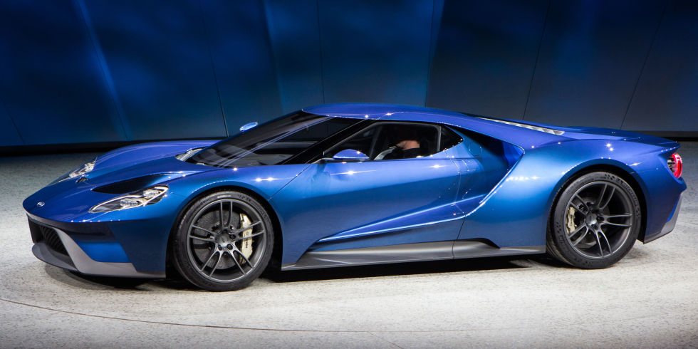 2017 Ford GT is the Fastest Production Car Ever Built by Ford - Motoraty