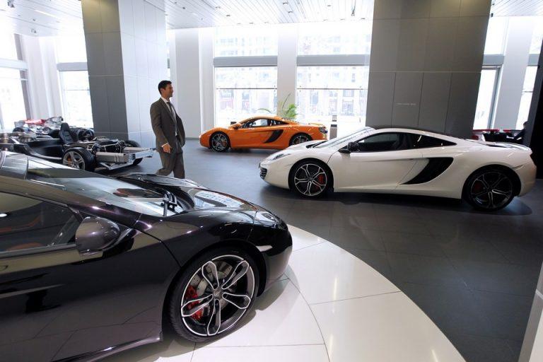 McLaren's New Showroom