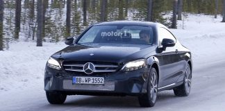 Redesigned Mercedes-Benz C-Class Coupe