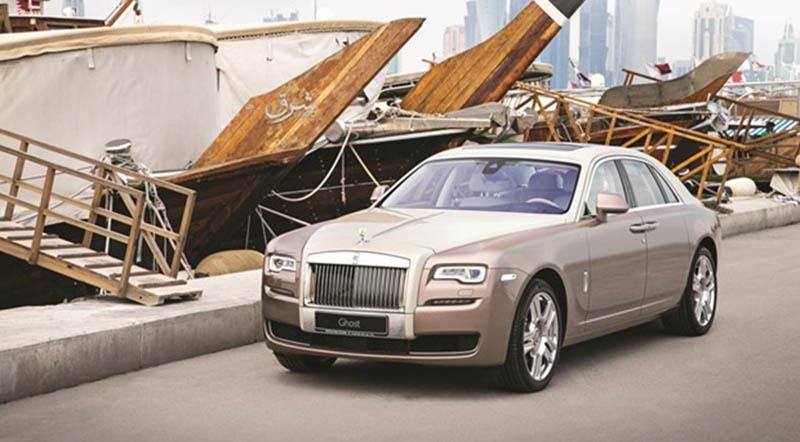 Rolls-Royce Ghost Dhow Launches in Qatar - Motoraty