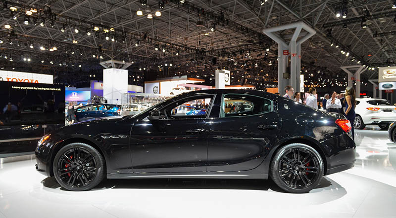 maserati ghibli nerissimo edition launched in new york - motoraty
