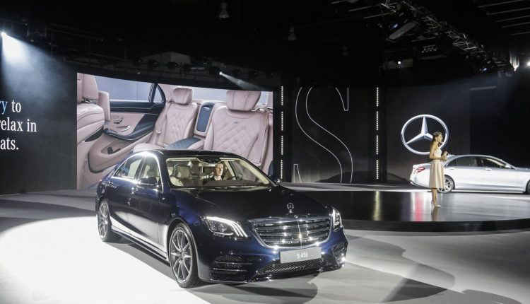 New Mercedes-Benz S-Class arrives in style for Middle East