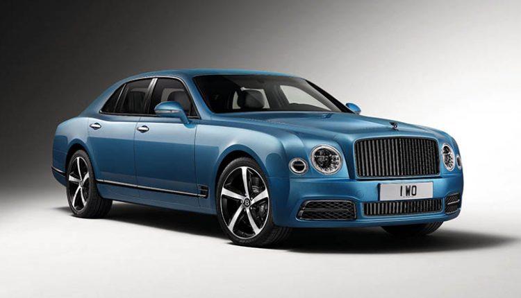 Special Edition Bentley Mulsanne Design Series Debuting at Frankfurt Auto Show
