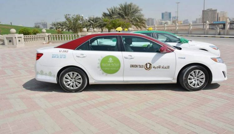 RTA Sharjah Adds More Hybrid Taxis to its Fleet