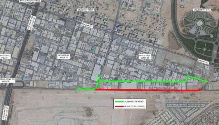 Sharjah Ring Road Closing Temporarily on Oct 15