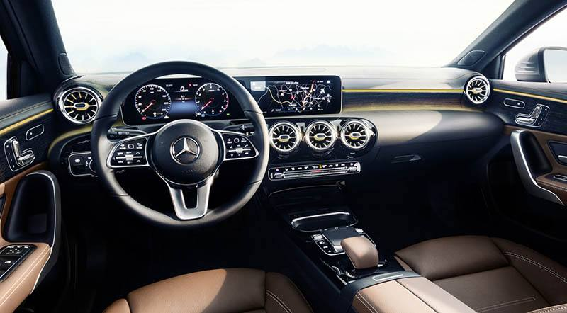 Interieur mercedes  Mercedes-Benz A-Klasse, Interieur Mercedes-Benz A-Class interior ...