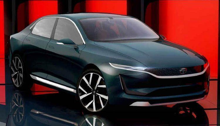 Tata E-Vision Electric Sedan Concept