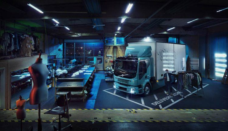 Volvo All-Electric Truck