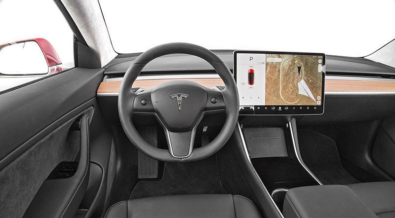 2017 tesla model 3 dashboard motoraty