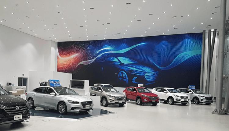 Hyundai, Genesis showrooms