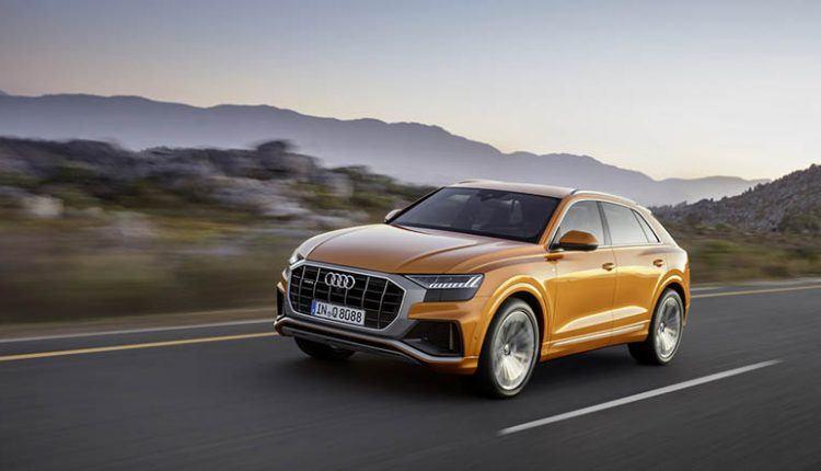 2019 Audi Q8 coupe suv