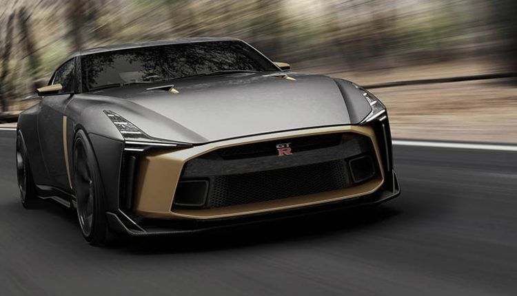 Italdesign Nissan GTR50