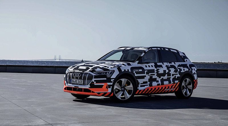 Audi ETron SUV To Debut In San Francisco On September Th Motoraty - Audi san francisco