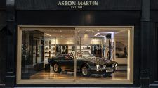 Aston Martin Works Heritage Showroom