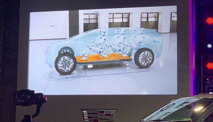 Cadillac's First EV Design