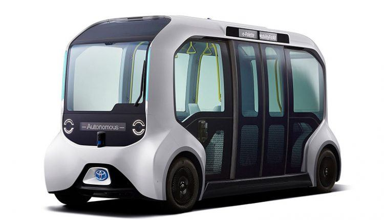 e-Palette Self-driving Shuttle