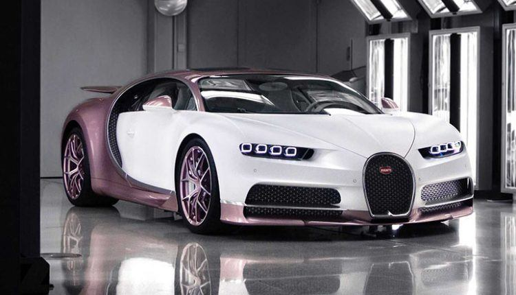 Pink And White Chiron
