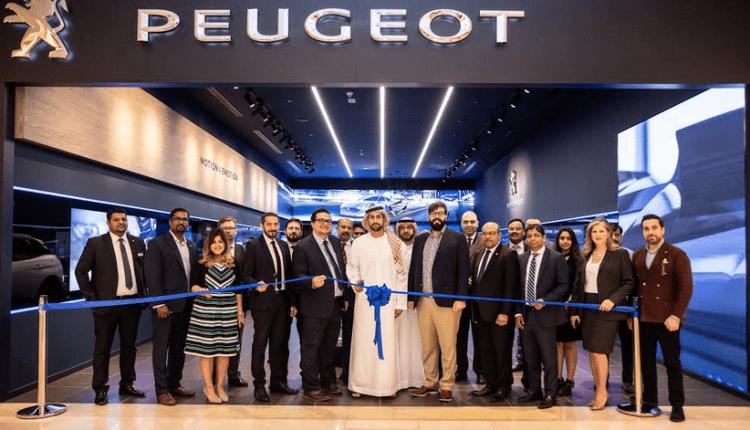 بيجو تكشف النقاب عن أول متجر بمفهوم Concept Store في أبوظبي