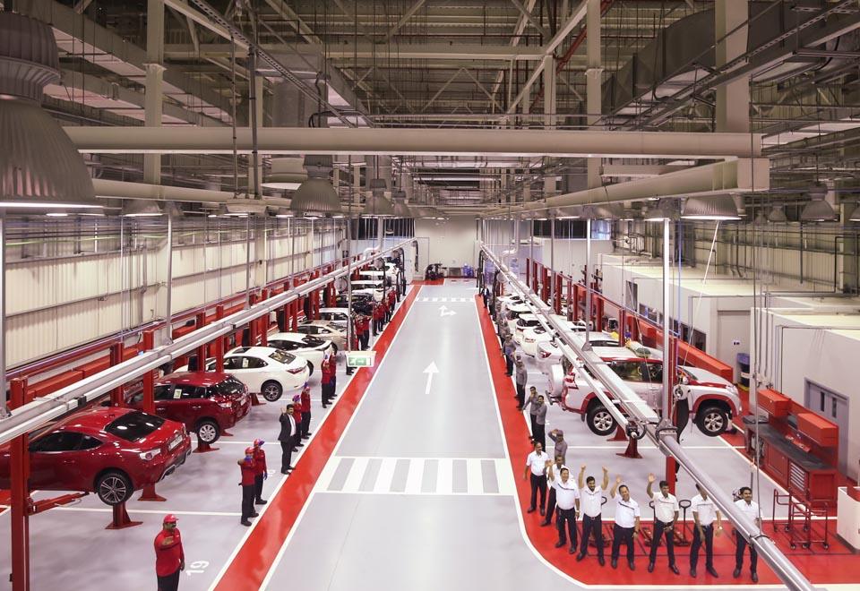 Al-Futtaim Motors Launches New Toyota Service Center in Abu
