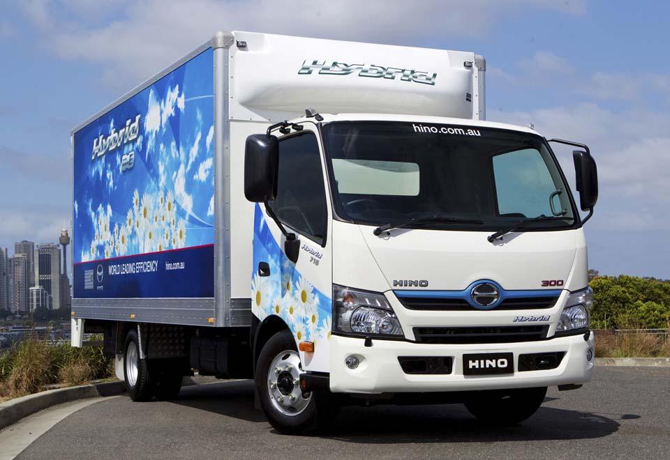 Al Futtaim Motors Launches Hino 300 Series Light Duty Hybrid Truck