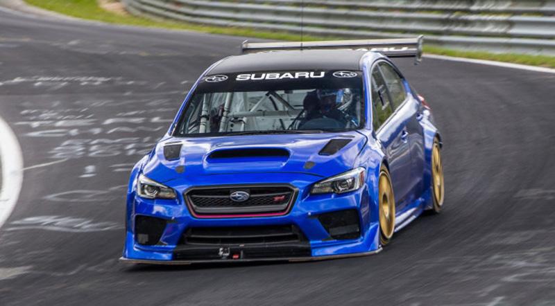 Subaru WRX STI Type RA NBR Sets a new Nürburgring Lap Record