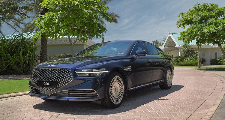 2020 Genesis G90 Luxury Sedan Arrives in the Middle East - Motoraty