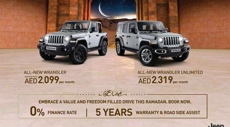 Ramadan 2019 Offers On Chrysler Dodge Jeep Ram Motoraty