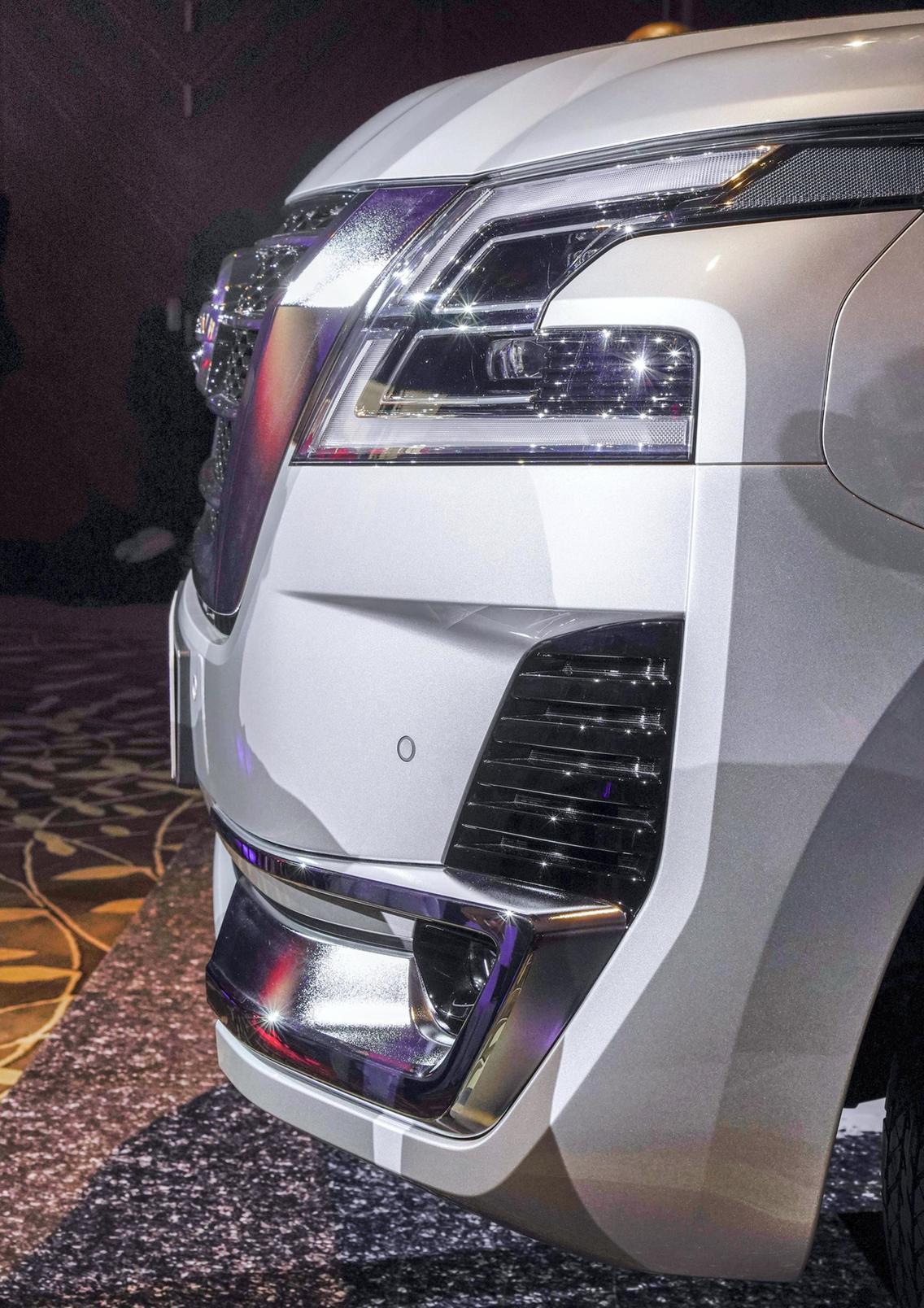 2020 Nissan Patrol Made its Global Debut in the UAE - Motoraty