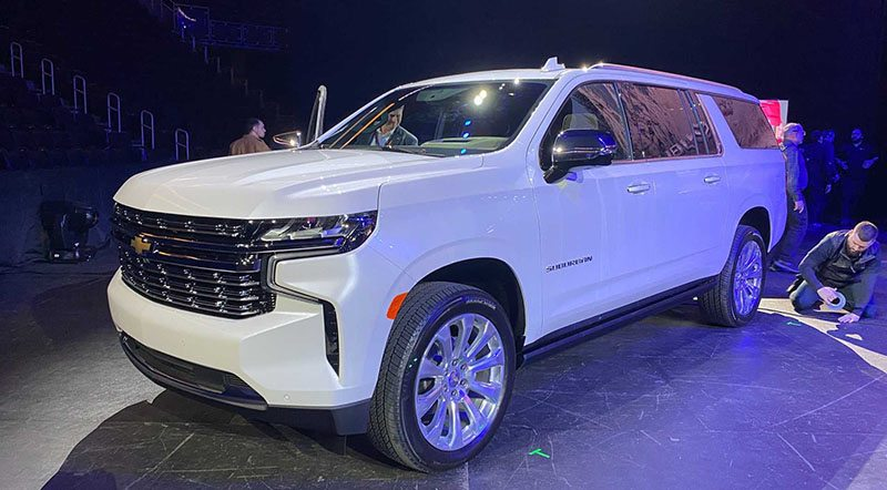 Chevrolet Unveils Redesigned 2021 Suburban and Tahoe ...
